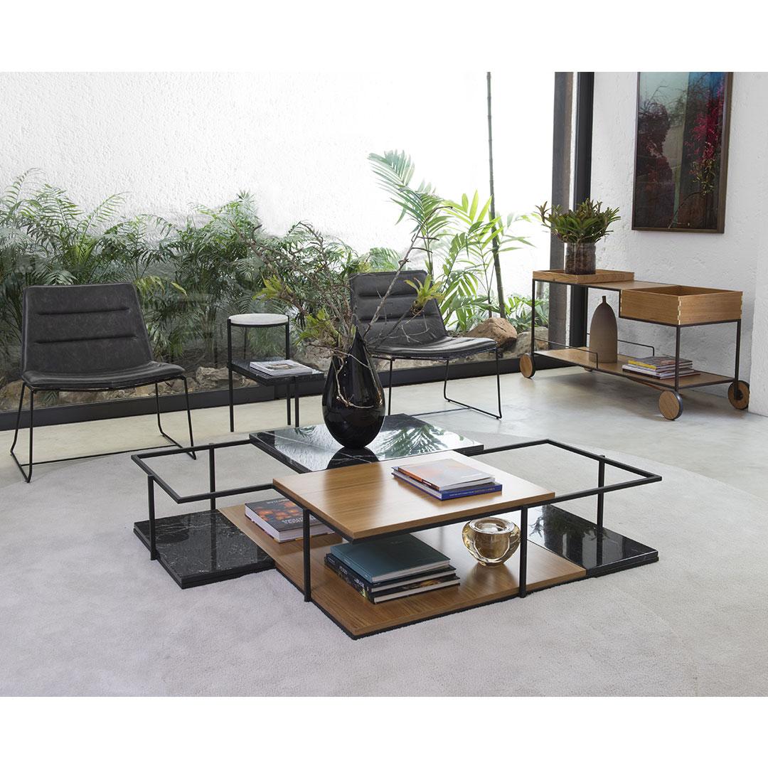 Mesa de centro petra fernando jaeger - Merkamueble mesas de centro ...