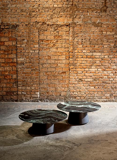 Mesa de centro Lótus mármore